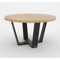 OKRĄGŁY MINI minimalistyczny stolik kawowy styl industrialny