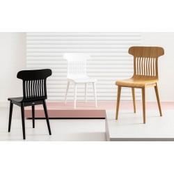 MAESTRO dębowe krzesło z siedziskiem ze sklejki