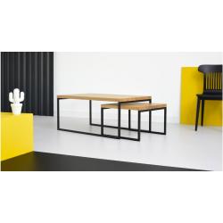 DOBLO zestaw minimalistycznych stolików kawowych