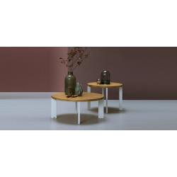 KASKADA zestaw stolików kawowych w stylu industrialnym