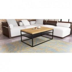 MALMO minimalistyczny stolik kawowy styl loftowy
