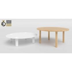 MILO OKRĄGŁY rozkładany stolik styl nowoczesny, polski design
