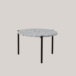 SERENO stolik kawowy z  blatem lastryko polski design