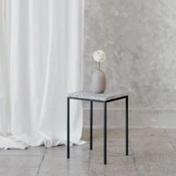 SOLO stolik kawowy z  blatem lastryko polski design