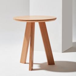 TONDO okrągły stolik kawowy w stylu bauhaus