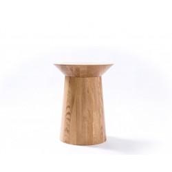 TOUR stolik z litego drewna dębowego polski design