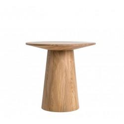 CAVALIER stolik z litego drewna dębowego polski design