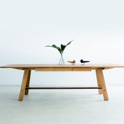 MESA drewniany stół w skandynawskim stylu