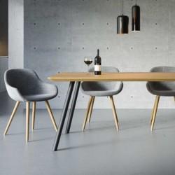 MEZZO SOFT minimalistyczny stół w stylu skandynawskim