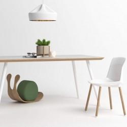 MEZZO SOFT BICOLOR minimalistyczny stół, styl skandynawski