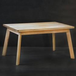 NERO stół z litego drewna dębowego styl skandynawski
