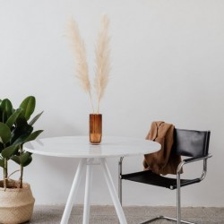 OSLO stół z kamiennym blatem polski design
