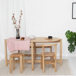 PIANO TABLE owalny stół do jadalni w stylu bauhaus