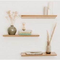 KANT drewniana półka ścienna w stylu skandynawskim