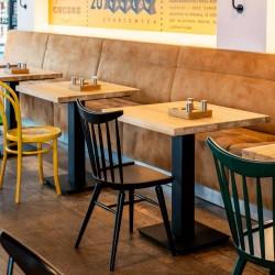FLAT 90 stół restauracyjny w stylu loftowym, polski design