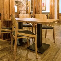 FLAT 140 stół restauracyjny w stylu loftowym, polski design