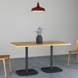 OVAL 140 stół restauracyjny w stylu loftowym, polski design
