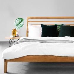 LARK łóżko z litego drewna...