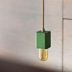 IDUNN lampa wisząca z barwionego betonu, polski design