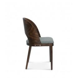 AVOLA BUK krzesło tapicerowane w stylu vintage, polski design
