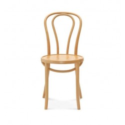 A-18 krzesło drewniane w stylu vintage, polski design