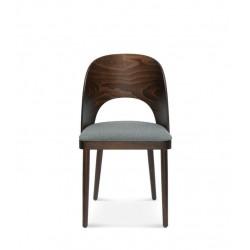 AVOLA DĄB krzesło tapicerowane w stylu vintage, polski design