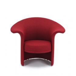 TULIPAN fotel tapicerowany w stylu vintage, polski design