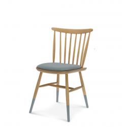 WAND krzesło tapicerowane w stylu vintage, polski design
