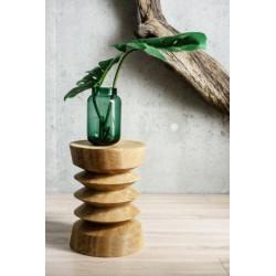TORRE stolik z litego drewna dębowego polski design