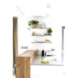 PEG półka drewniana, polski design