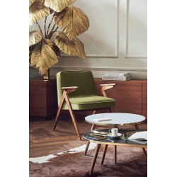 BUNNY fotel retro, styl skandynawski, polski design