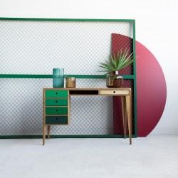 RUNO.3 biurko ze sklejki w skandynawskim stylu