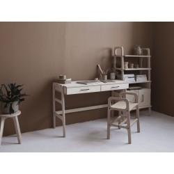 FRISK biurko ze sklejki z szufladami, polski design
