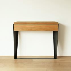 LA KONSOLA drewniana konsola w loftowym stylu