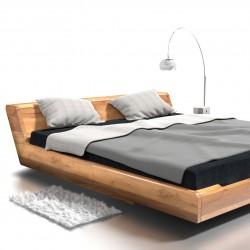 KOBE łóżko z litego drewna, polski design