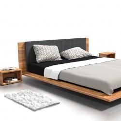 KUZMA łóżko z litego drewna, polski design