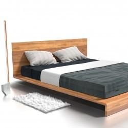 PAUL łóżko z litego drewna, polski design