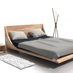RUSS łóżko z litego drewna, polski design