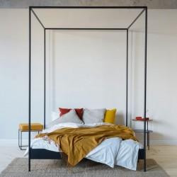 ETON minimalistyczne łóżko w stylu loftowym