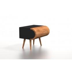 LUKA drewniana szafka nocna, polski design