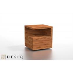 LAMAR drewniana szafka nocna, polski design