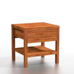 LONZO drewniana szafka nocna, polski design