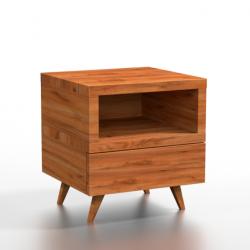 DIRK drewniana szafka nocna, polski design