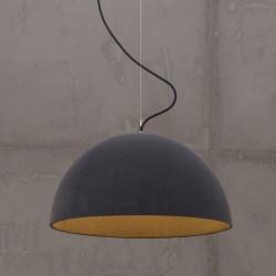 SFERA VELVET duża lampa betonowa styl loftowy