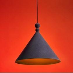 KONKO VELVET metalowa lampa w loftowym stylu