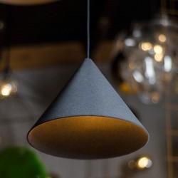 KONKO VELVET LIGHT metalowa lampa w loftowym stylu