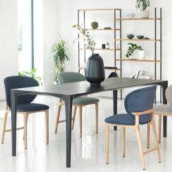 HOYA stół z litego drewna w stylu skandynawskim