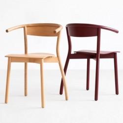 FALA B-1906 krzesło z litego drewna, styl nowoczesny, polski design