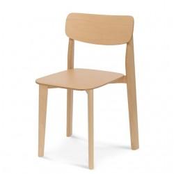 PALA krzesło z litego drewna, styl nowoczesny, polski design