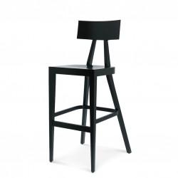 AKKA HOKER drewniane stołek barowy w nowoczesnym stylu